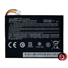 Acer BAT-715 (Iconia Talk 7 B1-733, Tab B1-A71, Tab B1-A710)