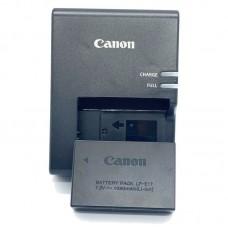 Canon LP-E17 (EOS RP M3 M5 M6 200D 750D 760D 850D) с зарядным устройством