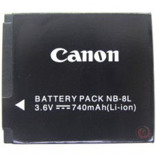 Canon NB-8L original camera battery (PowerShot A2200/A3000 IS/A3100 IS/A3200 IS/A3300 IS)
