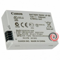 Canon LP-E8 original camera battery (EOS600D, 650D, X6, X5, 550D, 700D SLR)