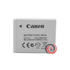 Canon NB-6L (6LH) original camera battery (IXUS105, 210, 300, S95, 90, SX240, 510, 700)